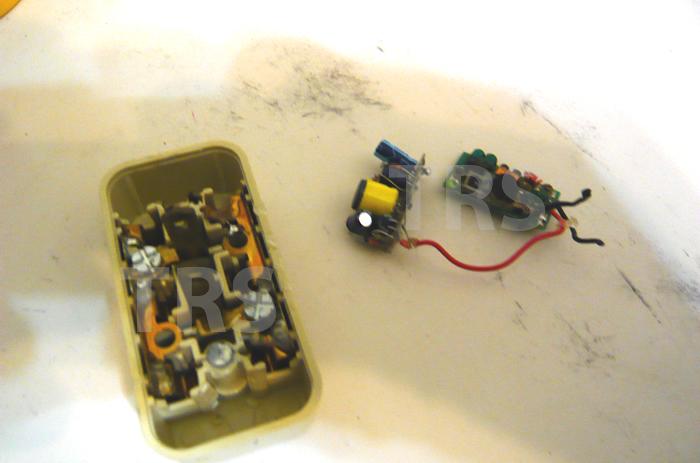 実際に台湾で撤去した日本製の盗聴器。