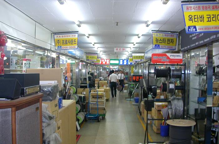ソウルの電気街